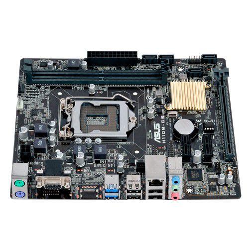 Placa mãe Asus H110M-CS BR Intel LGA 1151 mATX DDR4