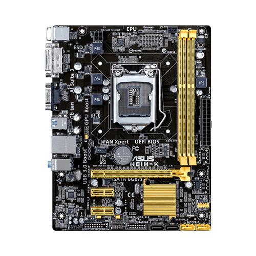 Placa mãe Asus H81M-K H81 LGA 1150 DDR3