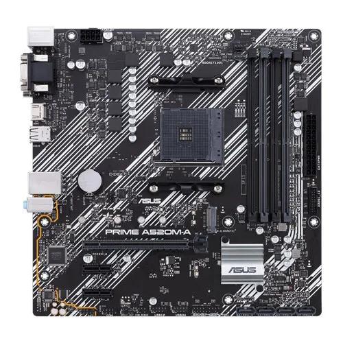 Placa mãe Asus Prime A520M E AMD AM4 mATX DDR4 P/ Ryzen