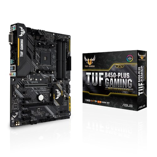 Placa Mãe Asus TUF B450 PLUS GAMING AMD AM4 mATX DDR4