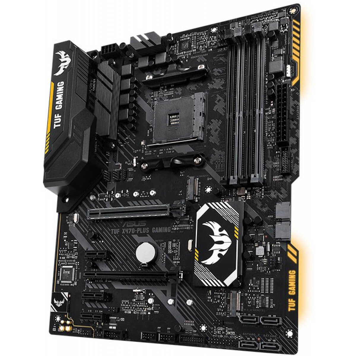 Placa mãe Asus Tuf X470 Plus Gaming USB 3.1 DDR4 AM4