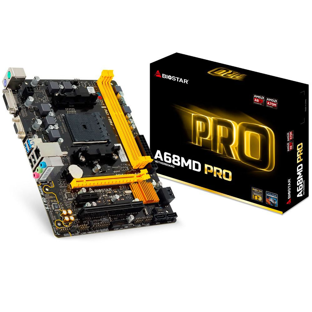 Placa Mãe Biostar A68MD Pro Chipset AMD A70M