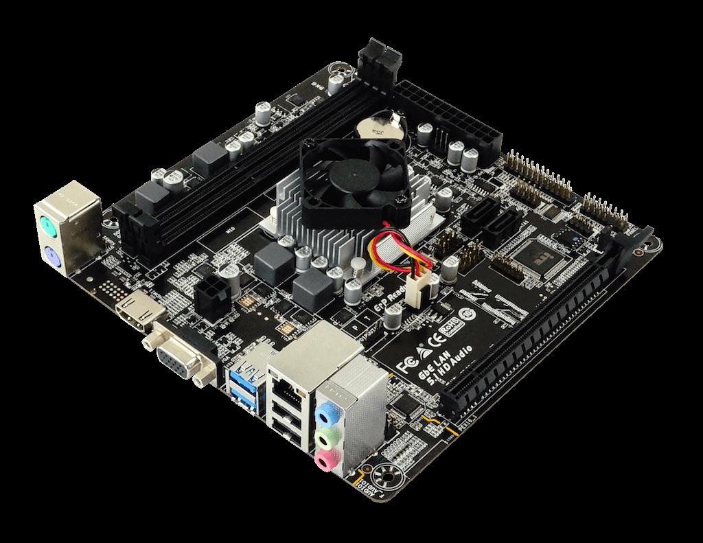 Placa mãe Biostar A68N 5600E + Processador A4 3350b DDR3
