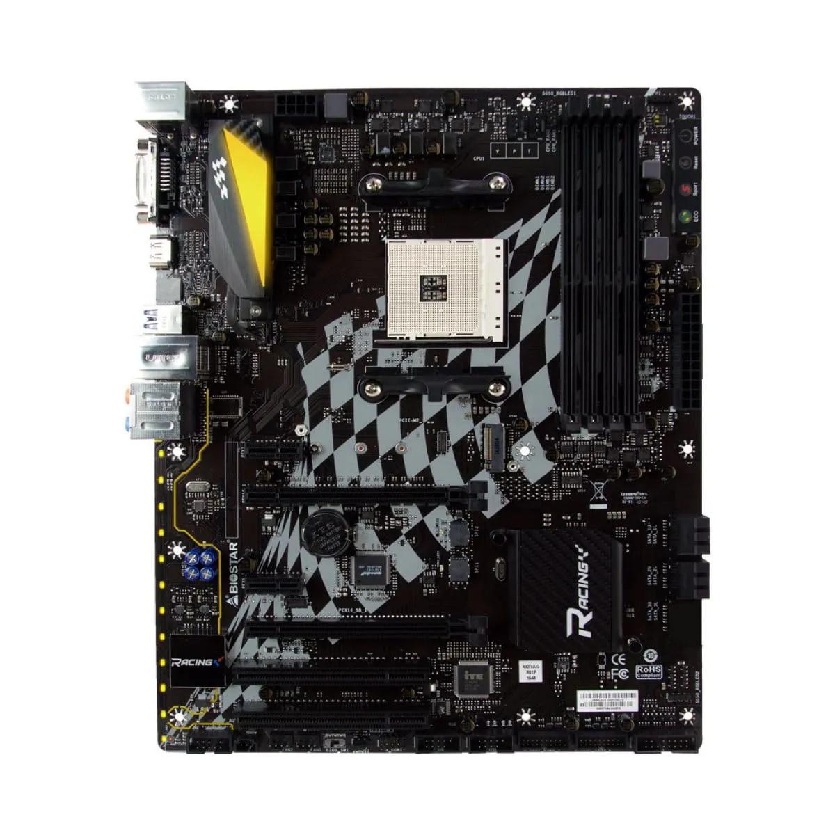 Placa mãe Biostar B350GT5 Chipset B350 AMD AM4 Atx DDR4