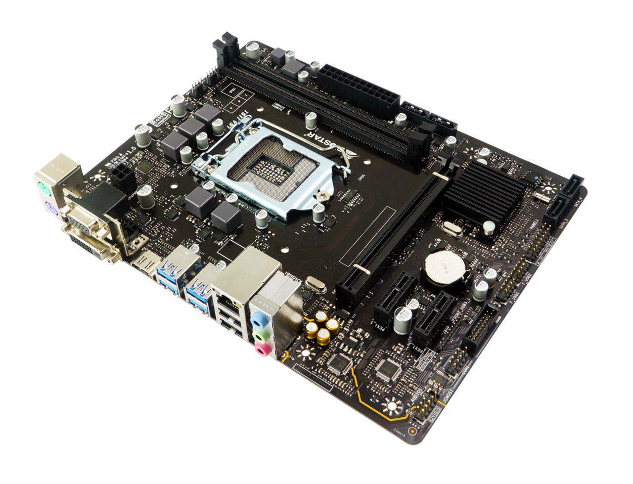 Placa mãe Biostar B360MHD PRO, B360, Intel LGA 1151, Matx, DDR4