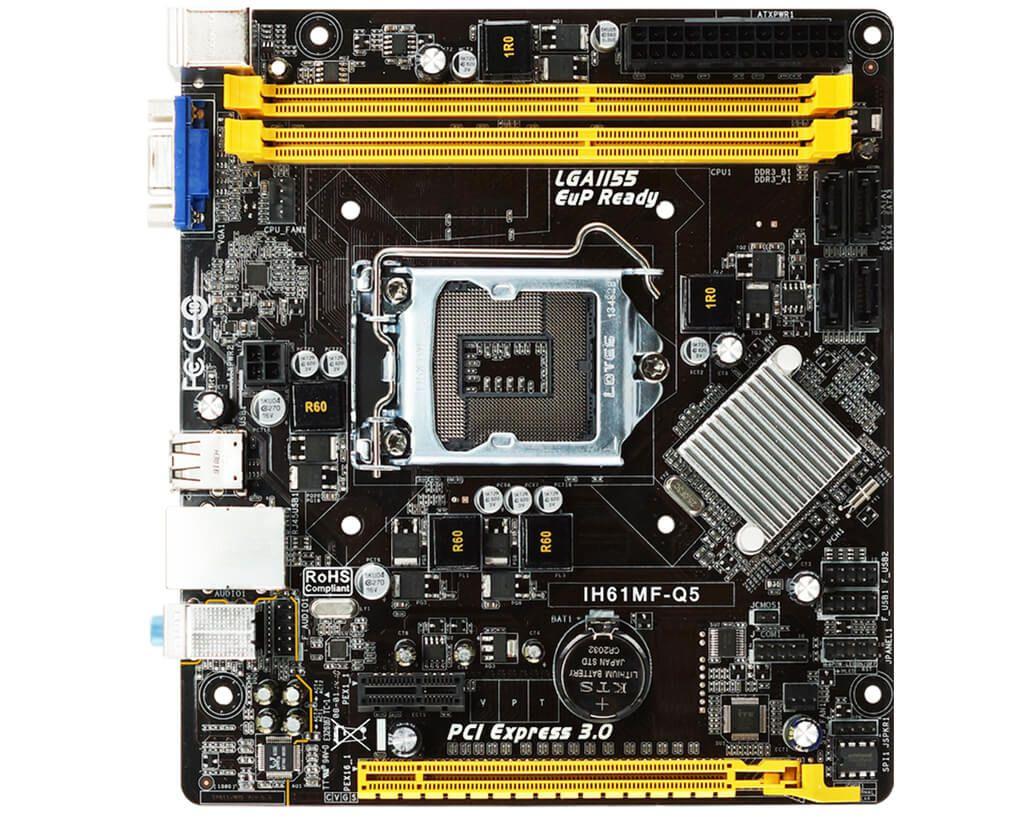 Placa mãe Biostar IH61MF-Q5 LGA 1155 DDR3