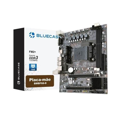 Placa mãe BlueCase BMBF68-D Box FM2+ Sata 3Gb/s HDMI