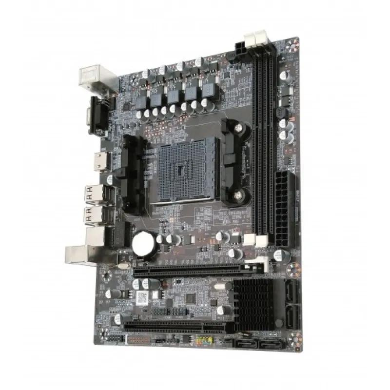 Placa mãe BlueCase BMBF68-D OEM FM2 Sata 3Gb/s HDMI