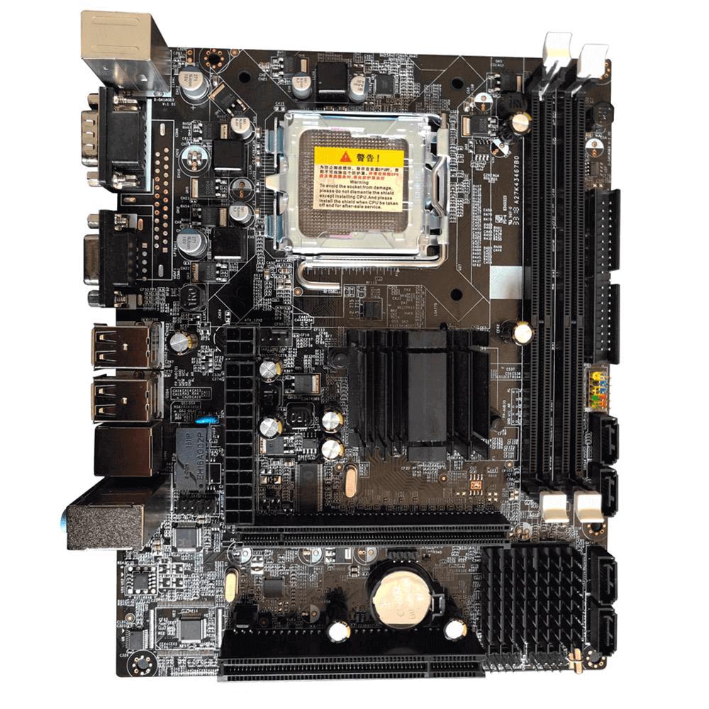 Placa mãe Bluecase BMBG41-D Box Ddr3 Lga775 775 VGA USB 2.0