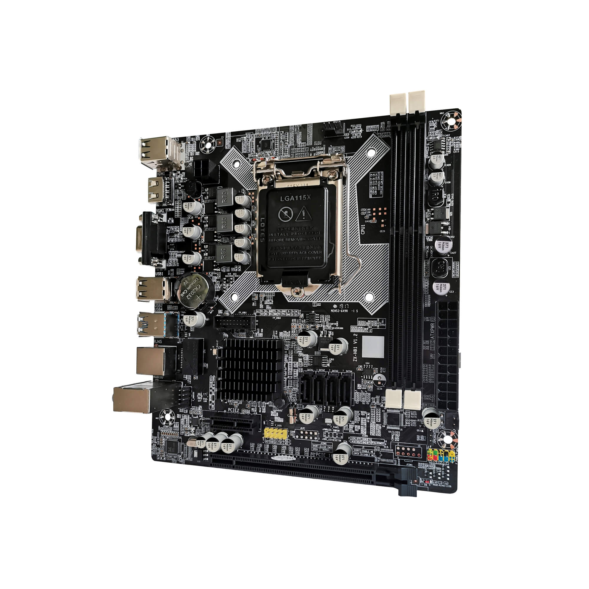 Placa mãe BlueCase BMBH81 D2 H81 LGA 1150 DDR3