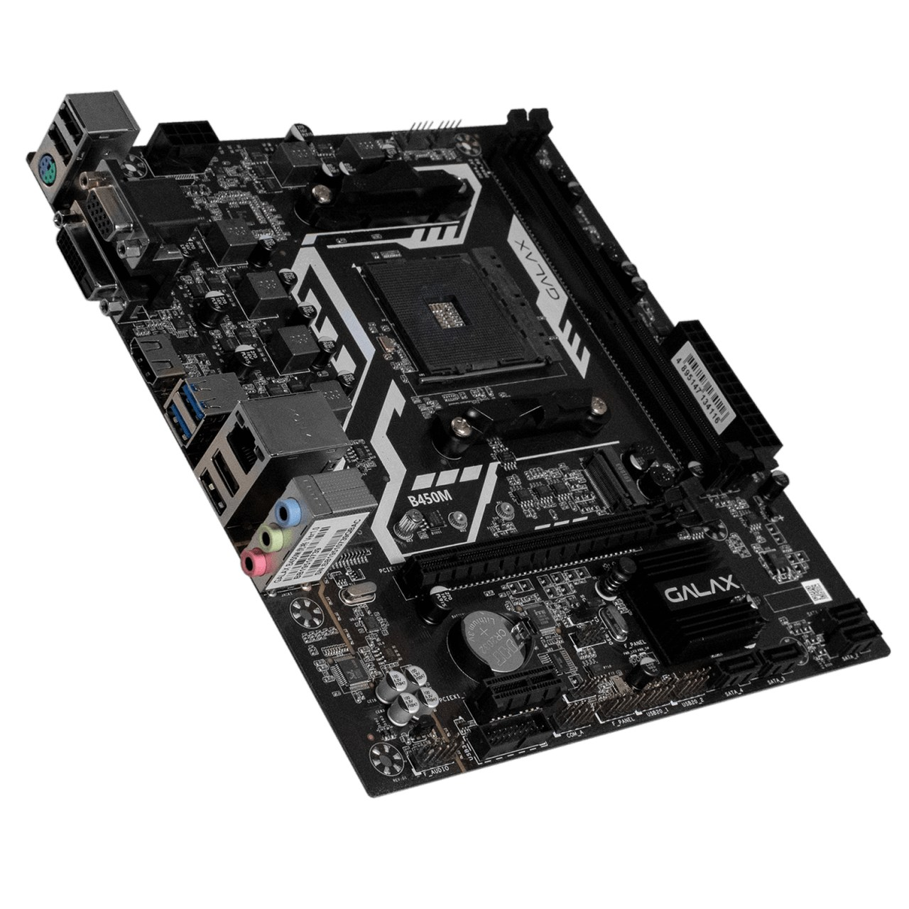 Placa Mãe Galax B450M Chipset B450 AMD AM4 mATX DDR4 AB450MAGCHJ1CW
