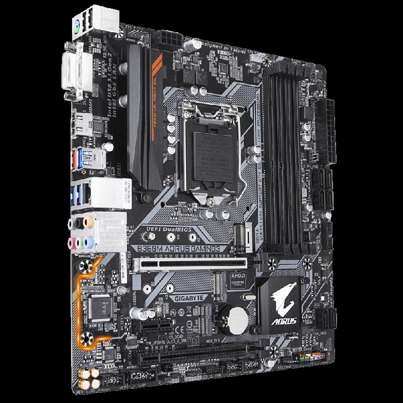 Placa Mãe Gigabyte B360M Aorus Gaming 3 LGA 1151 DDR4