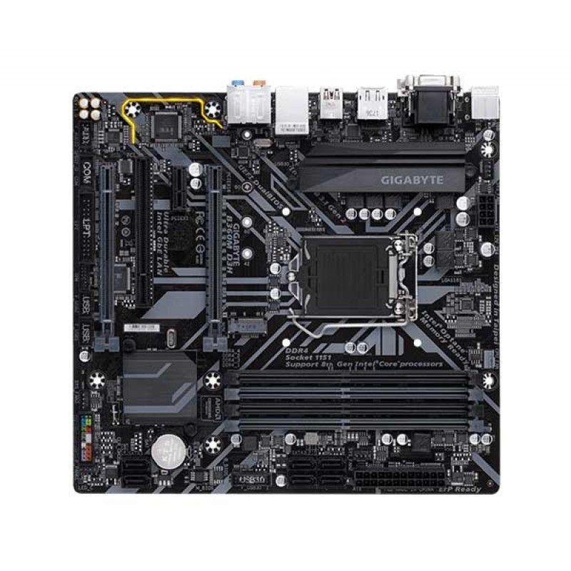 Placa Mãe Gigabyte B360M D3H Chipset INTEL B360 LGA 1151