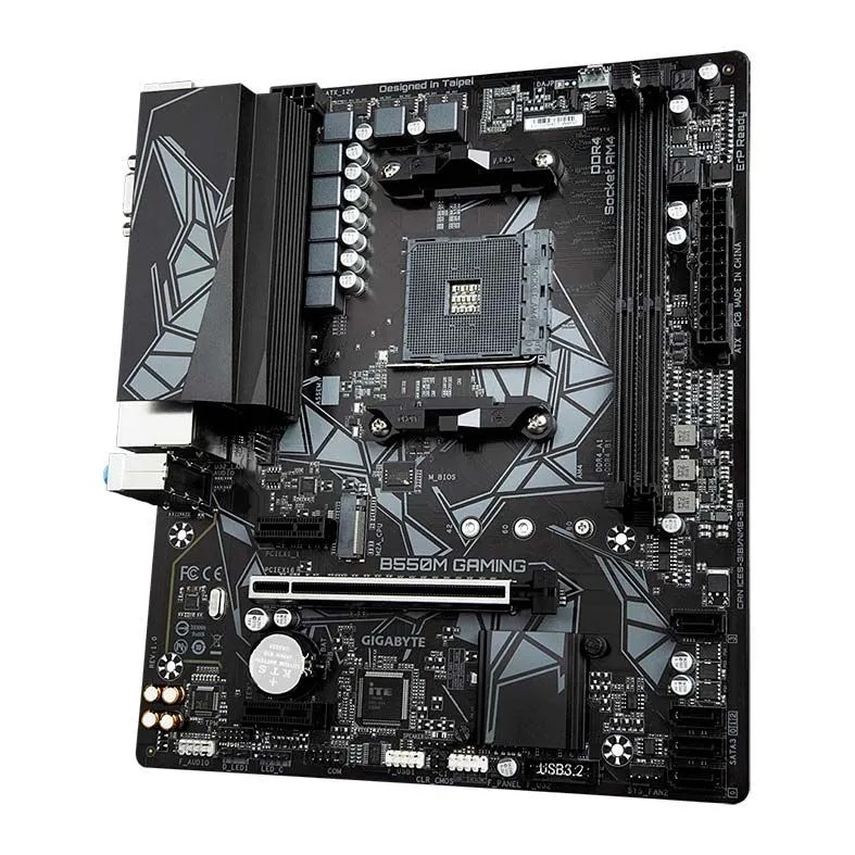 Placa mãe Gigabyte B550M Gaming DDR4 AM4 Chipset AMD B550