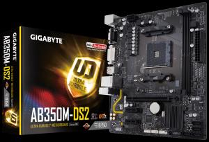 Placa Mãe Gigabyte GA AB350M DS2 Chipset Amd DDR4
