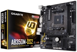 Placa Mãe Gigabyte GA AB350M DS2 Chipset Amd DDR4