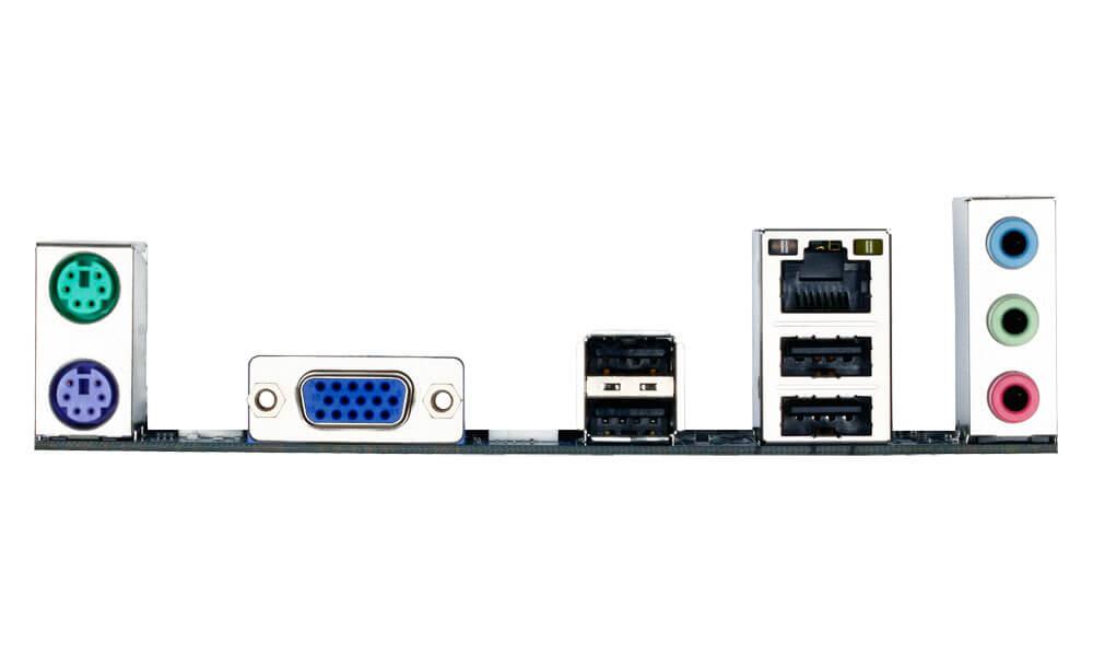 Placa mãe Gigabyte GA-H61M-S1 H61M S1 LGA 1155 INTEL H61 DR3