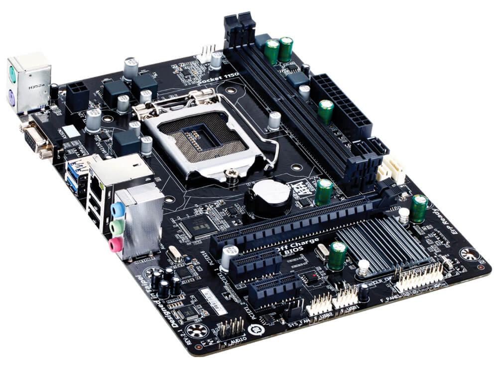Placa mãe Gigabyte GA-H81M-S1 Intel LGA 1150 H81 DDR3