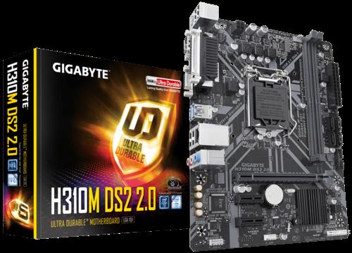 Placa Mãe Gigabyte H310M DS2 DDR4 LGA1151 Chipset Intel H310