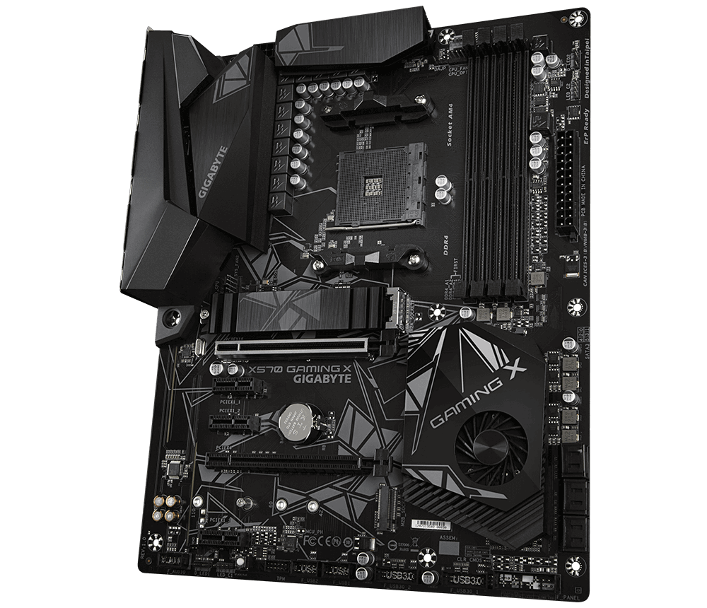 Placa mãe Gigabyte X570 GAMING X, Chipset X570, Amd Am4, ATX, DDR4