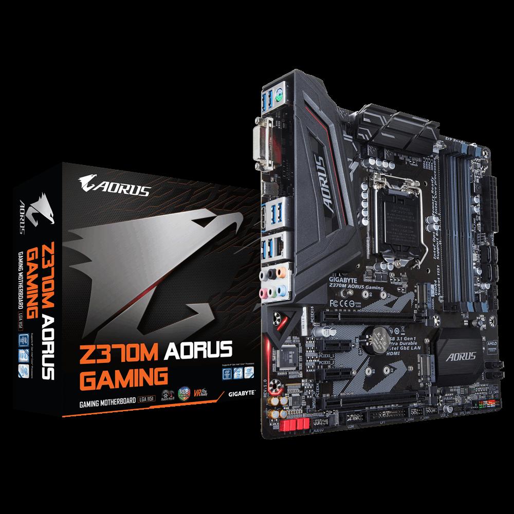 Placa Mãe Gigabyte Z370M Aorus Gaming Chipset Intel LGA 1151