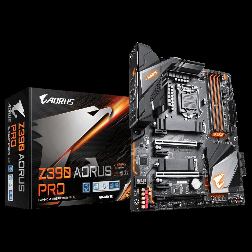 Placa Mãe Gigabyte Z390 Aorus PRO DDR4 SLI CROS LGA 1151