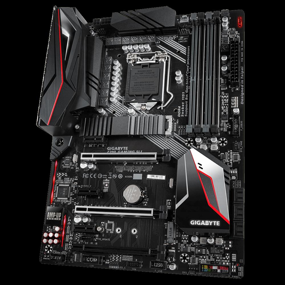 Placa Mãe Gigabyte Z390 Gaming SLI LGA 1151 DDR4 M2