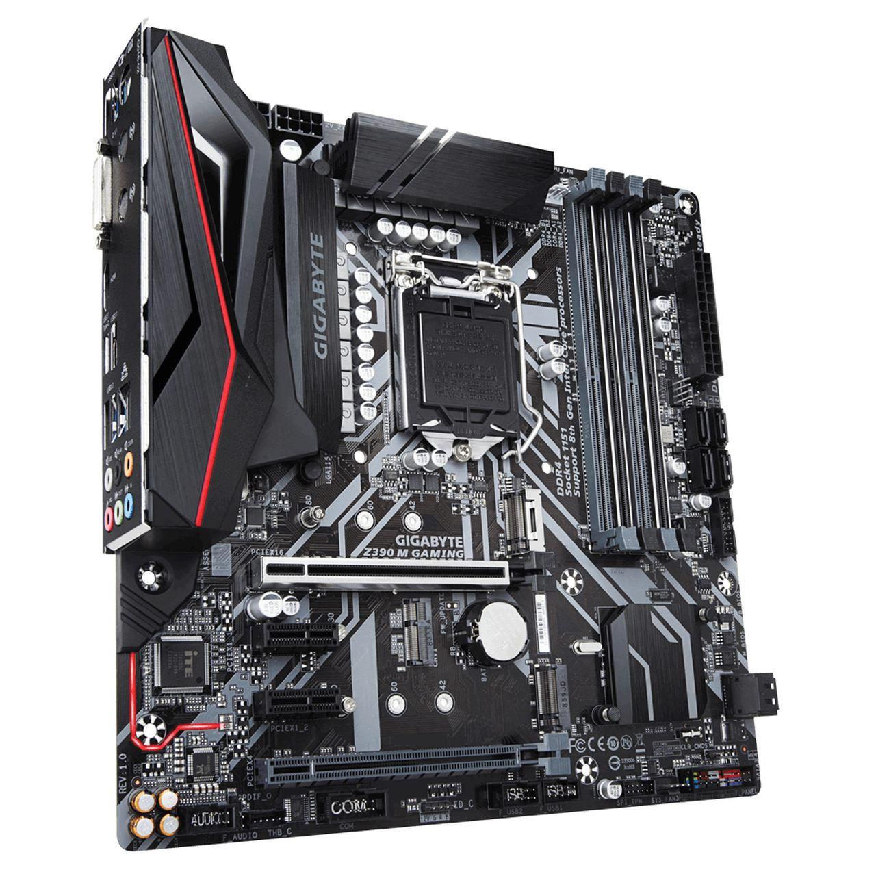 Placa mãe Gigabyte Z390 M Gaming, Chipset Z390, Intel LGA 1151, DDR4