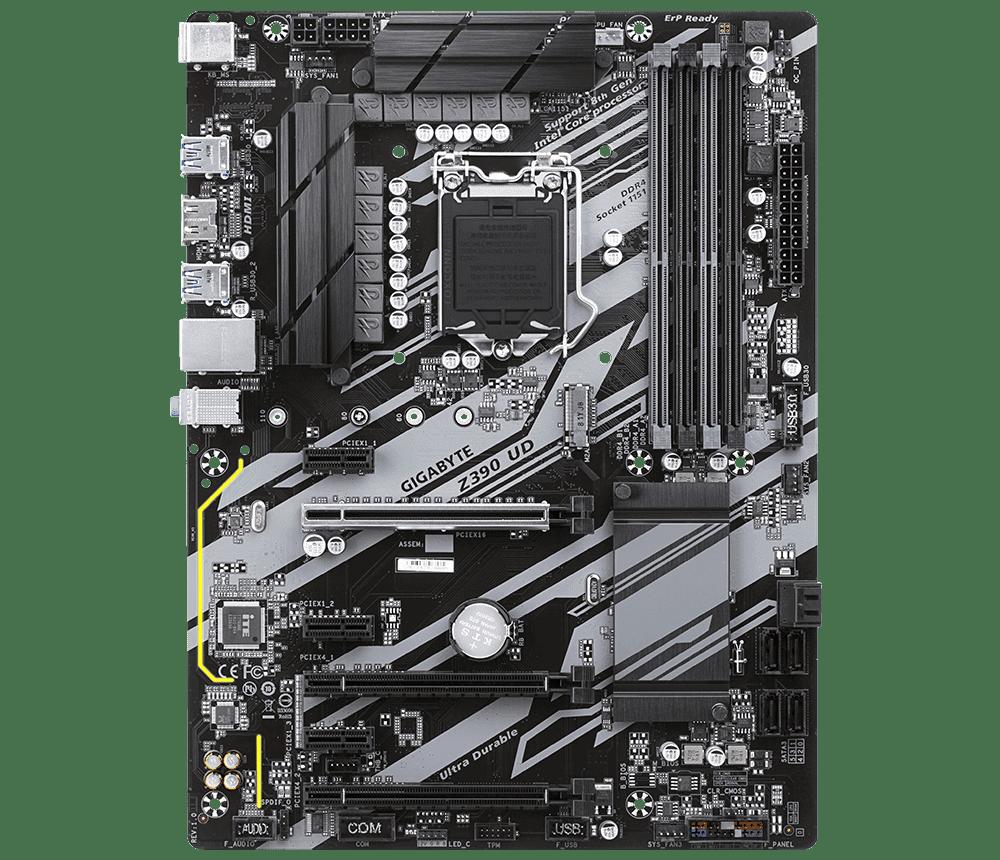 Placa Mãe Gigabyte Z390 UD INTEL LGA 1151 9º Geracao DDR4