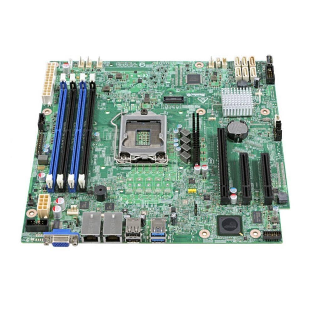 Placa Mae INTEL P/ Servidor Xeon  S1200SPSR 1151 DBS1200SPSR