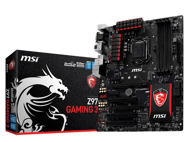 Placa Mae LGA 1150 MSI Gaming 3 DDR3 3300MHZ Z97 Crossfire