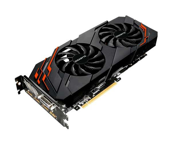 Placa Video Gigabyte GTX 1070TI Windforce 8G GV-N107TWF2-8GD