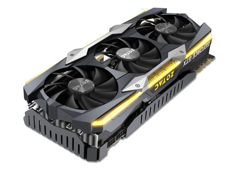 Placa Video Zotac GTX ZT-P10810F-10P  GTX 1080TI 11GB DDR5