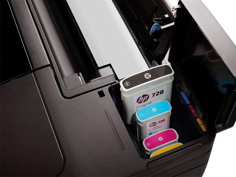 Plotter HP F9A29A#B1K Designjet T730 36POL 91CM IMP Wifi