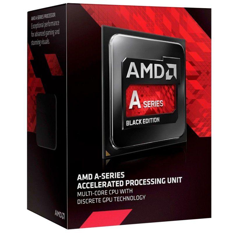 Processador AMD A6 7400K Cache 1MB 3.5GHZ FM2+ - AD740KYBJABOX