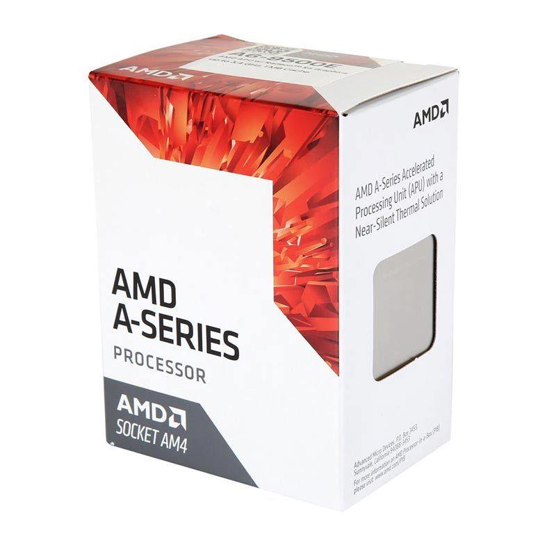 Processador AMD A6 9500E Dual Core 3,0Ghz 3,4Ghz Turbo 1MB Cache AM4