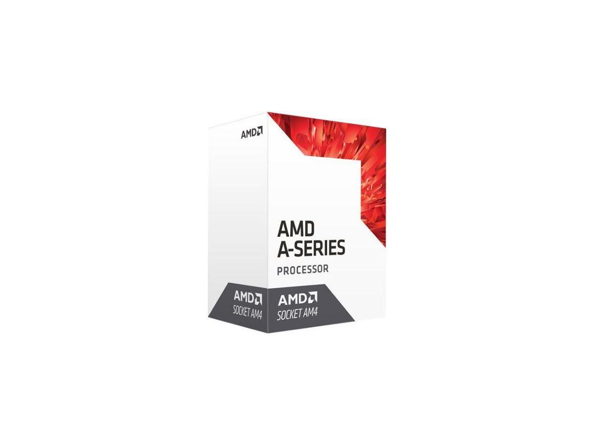Processador AMD A8 9600 Quad-Core, 3.1GHz Cache 2MB - AD9600AGABBOX