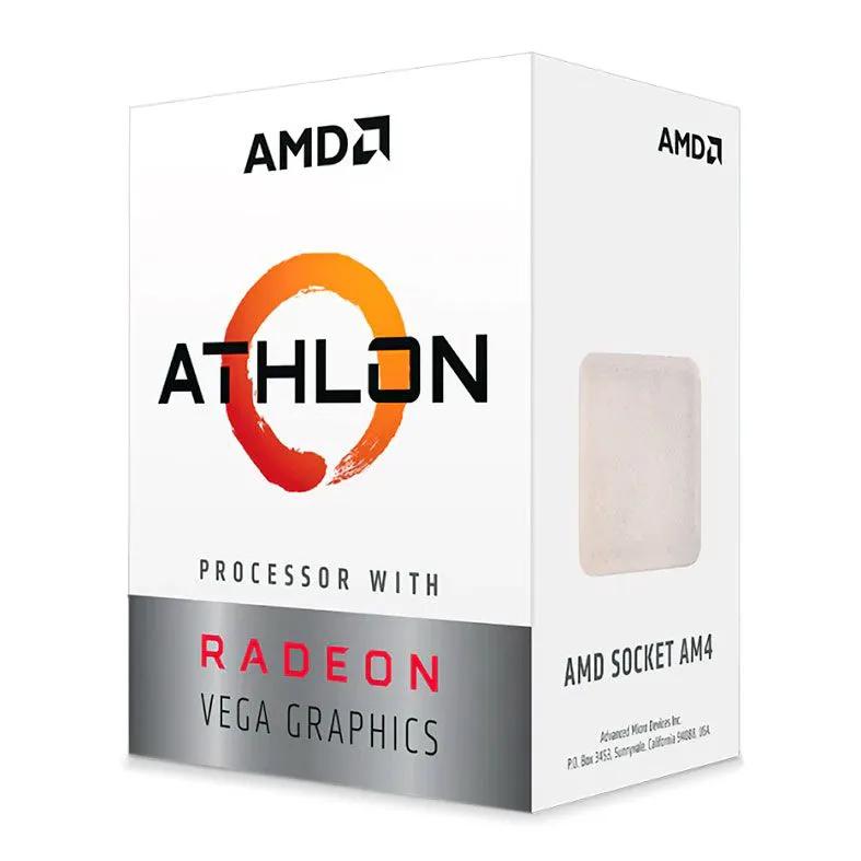Processador AMD Athlon 3000G 3,5Ghz 5MB Cache AM4 YD3000C6FHBOX