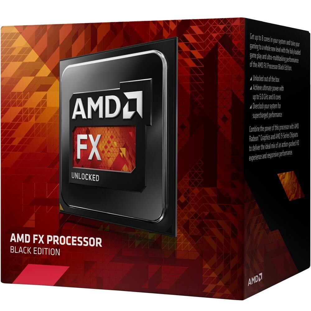Processador AMD FX 8300 Black Edition 3.3Ghz Am3+ Octa Core