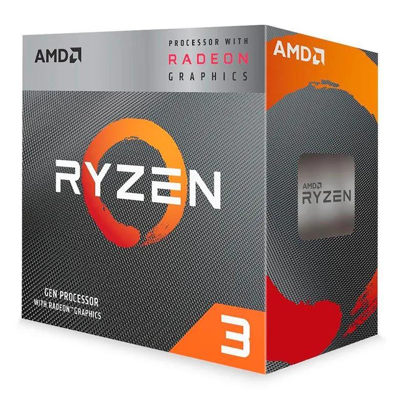 Processador AMD Ryzen 3 3200G 4MB 3,6Ghz (4Ghz Max Turbo ) AM4