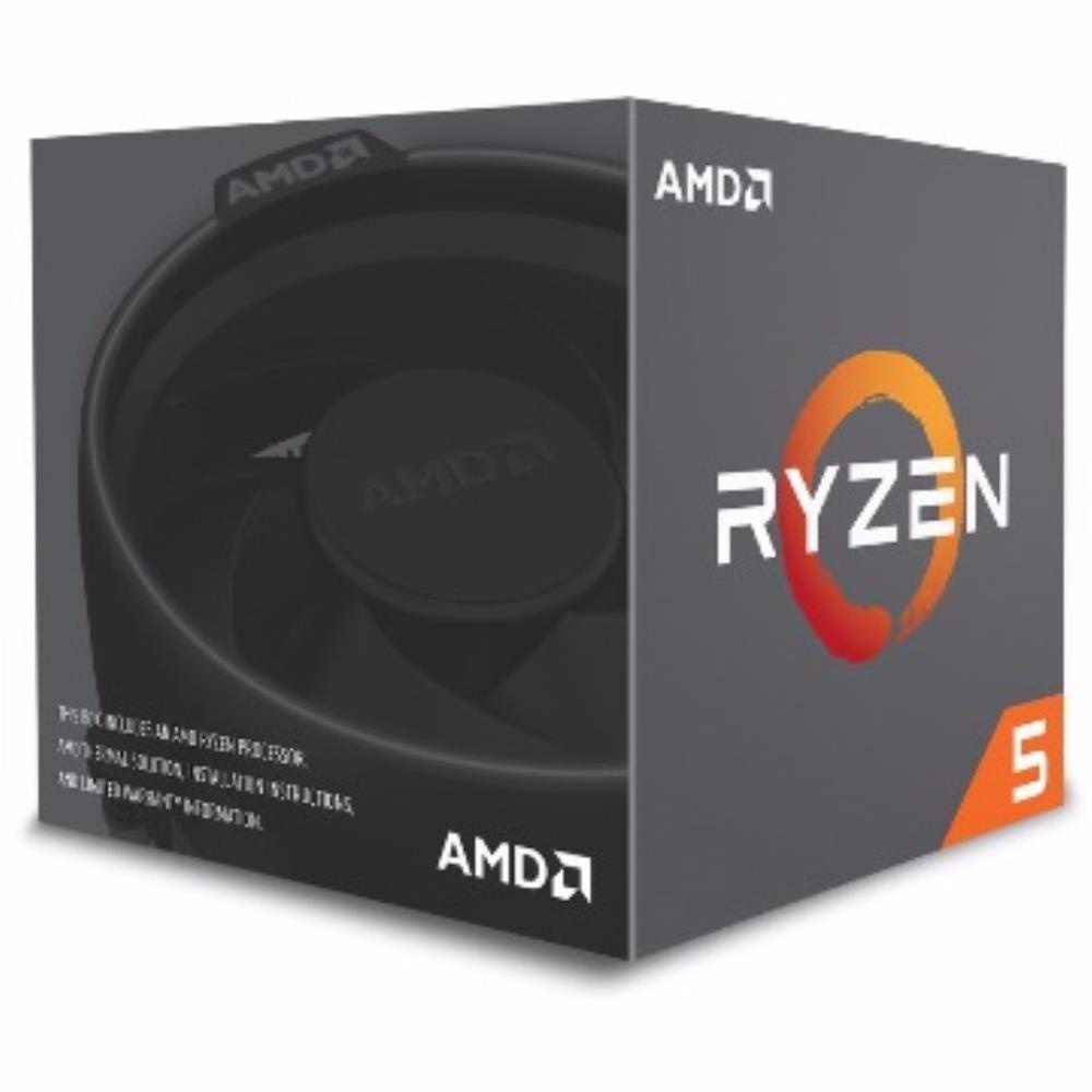 Processador AMD Ryzen 5 1400, Quad Core, Cache 8MB, 3.2GHz (Max Turbo 3.4GHz) AM4 - YD1400BBAEBOX