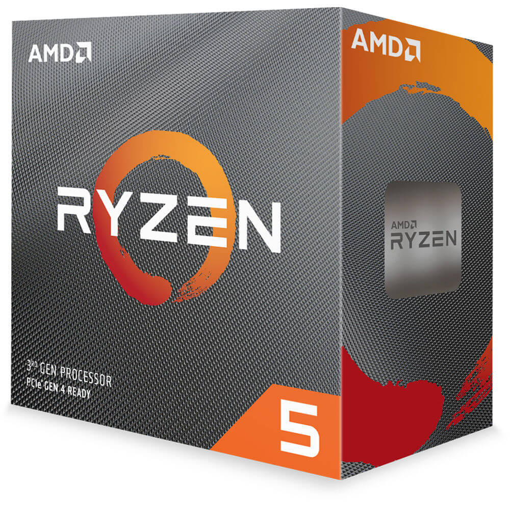 Processador AMD Ryzen 5 3600 3.6GHZ 4.2GHZ TURBO 6-Core 12-Thread Cooler Wraith Stealth