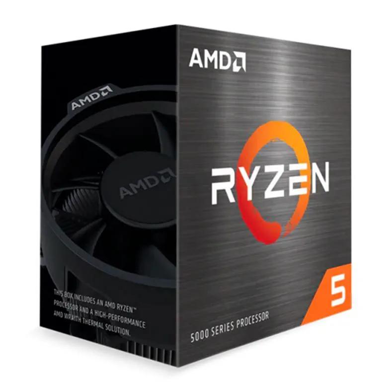 Processador AMD Ryzen 5 5600X 3.7Ghz 4.6Ghz Turbo 6-Cores 12-Threads Cooler Wraith Stealth AM4