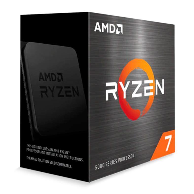 Processador AMD Ryzen 7 5800X 3.8GHz 4.7GHz Turbo 8-Cores 16-Threads AM4 Sem Cooler
