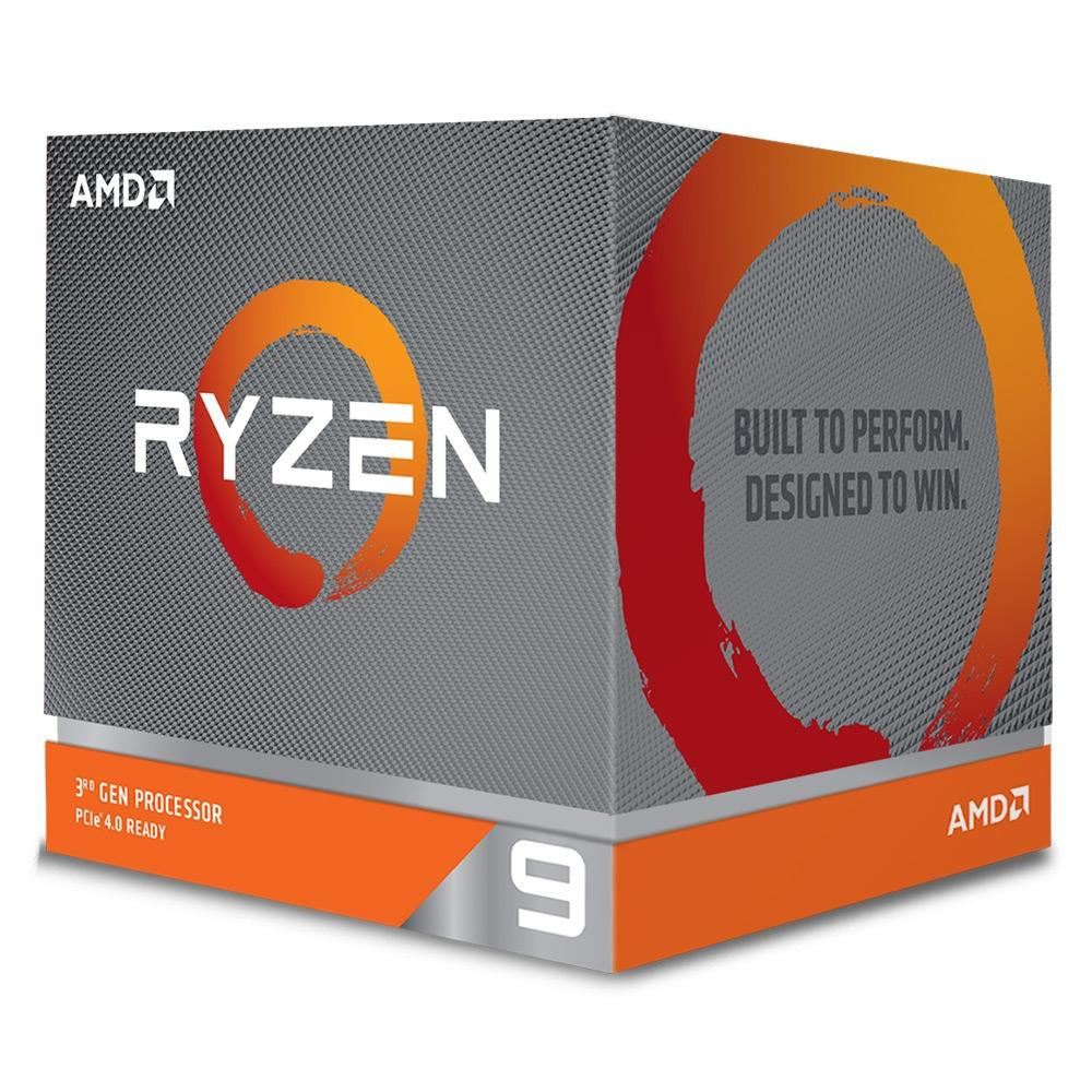 Processador AMD Ryzen 9 3900X Cache 64MB 3,8Ghz (4,6GHz Max Turbo) AMD - 100-100000023BOX