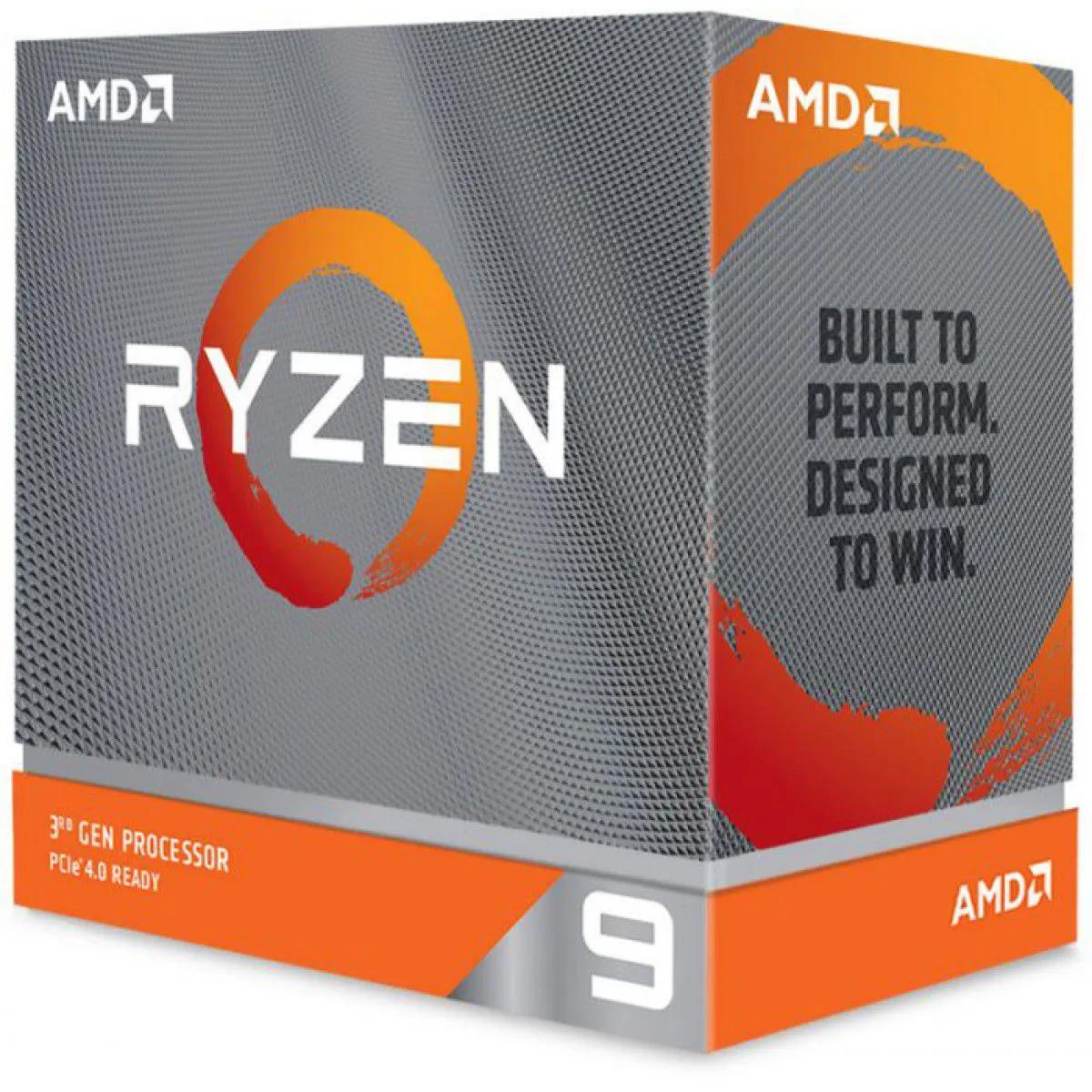 Processador AMD Ryzen 9 3950X 3,5Ghz (4,7Ghz ) 16 Core 32 Thread S/ Cooler AM4