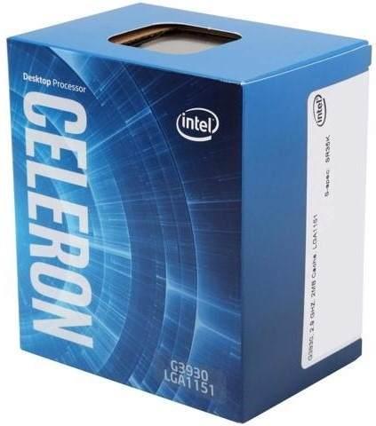 Processador Intel Celeron G3930 2.9GHz LGA 1151 Cache 2MB - BX80677G3930