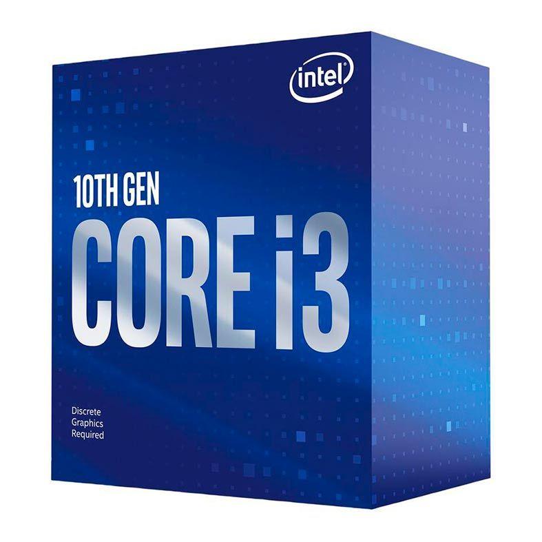 Processador Intel Core i3 10100F 3,60Ghz (4.30GHz Turbo) 10ª Geração 4-Cores 8-Threads LGA 1200