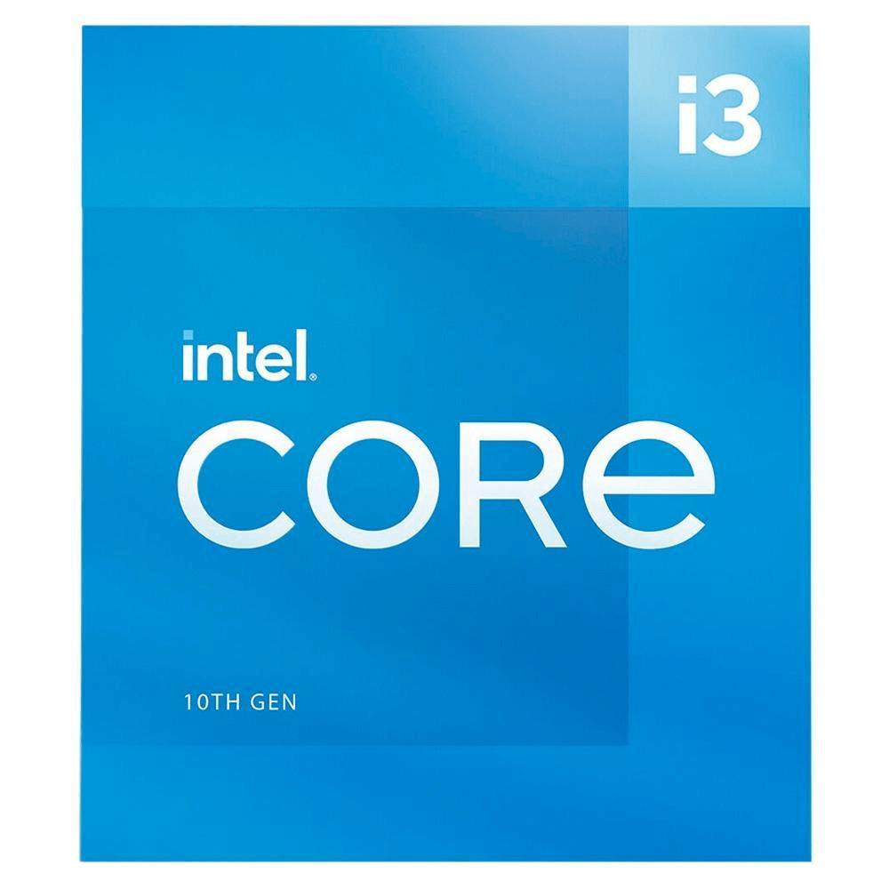 Processador Intel Core i3 10105 3.7GHz 4.4GHz Turbo 10ª Geração 4-Cores 8-Threads LGA 1200 BX8070110105