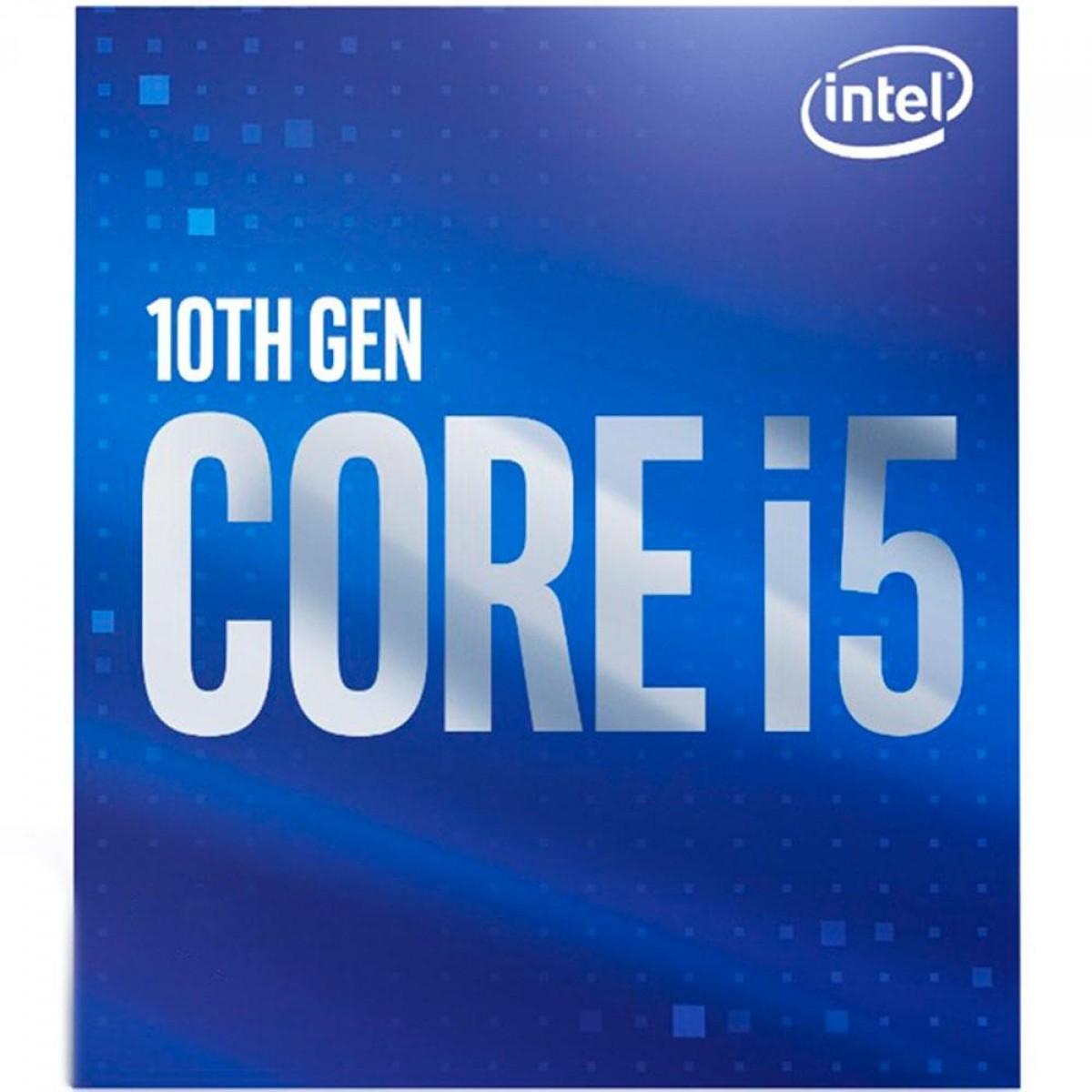 Processador Intel Core i5 10400F 2.90GHz (4.30GHz Turbo) 10ª Geração 6-Cores 12-Threads LGA 1200
